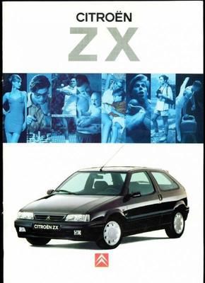 Brochure Citroën ZX 1994