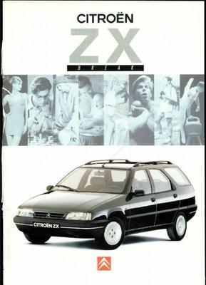 Brochure Citroën ZX Break 1994