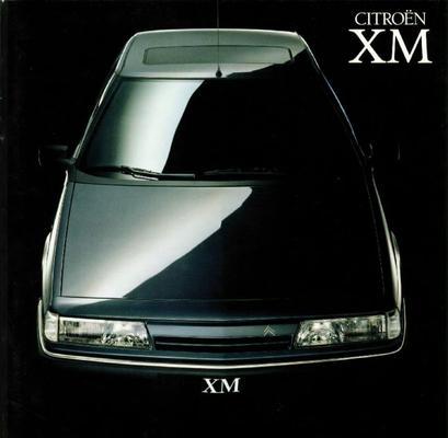 Brochure Citroën XM 1990