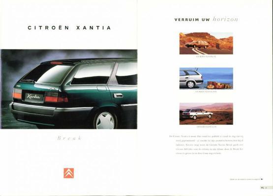 Brochure Citroën Xantia Break 1995