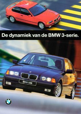 Brochure BMW 3-serie 1996