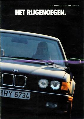 Brochure BMW 1988