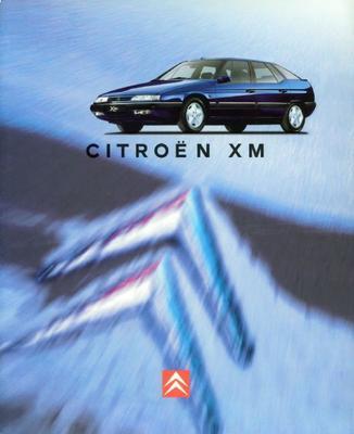 Brochure Citroën XM 1996