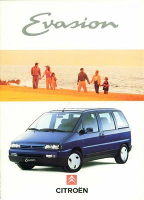 Brochure Citroën Evasion 1994