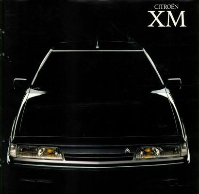 Brochure Citroën XM 1989
