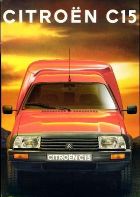 Brochure Citroën C15 1992