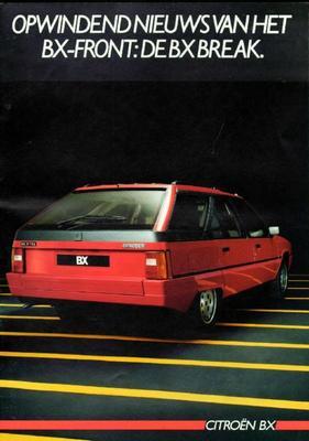 Brochure Citroën BX Break 1985