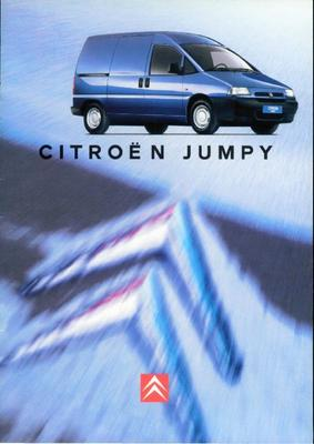 Brochure Citroën Jumpy 1996