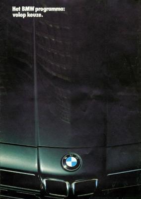 Brochure BMW 1985