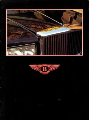 Brochure Bentley 1985