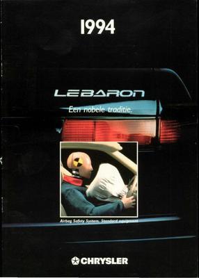 Brochure Chrysler Le Baron 1994