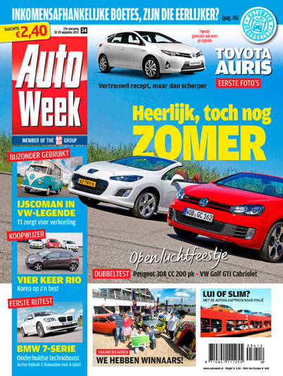AutoWeek 34 2012