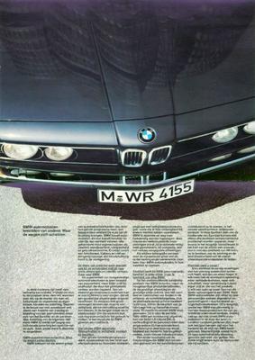 Brochure BMW 1981