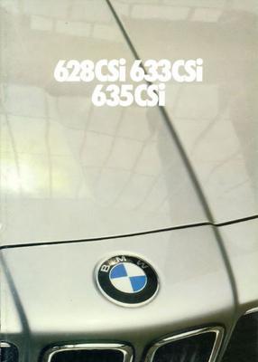 Brochure BMW 6-serie 1980