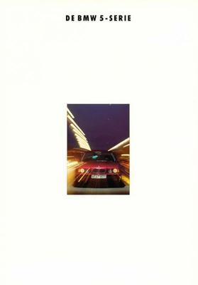 Brochure BMW 5-serie 1992