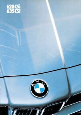 Brochure BMW 6-serie 1986