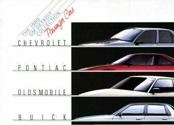Brochure GM Detroit collection 1989