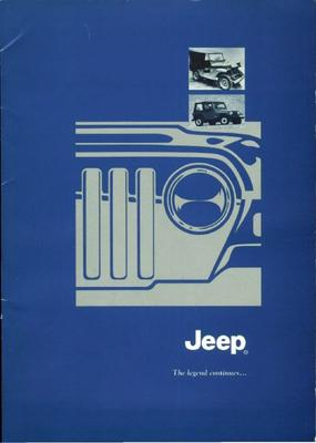 Brochure Jeep 50 jaar (1996)