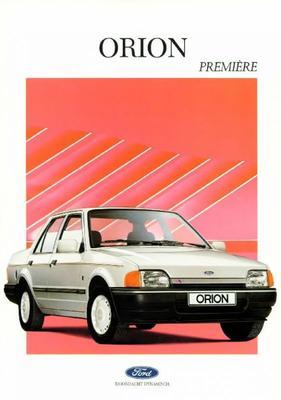 Brochure Ford Orion Premiëre