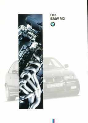 Brochure BMW M3 1994