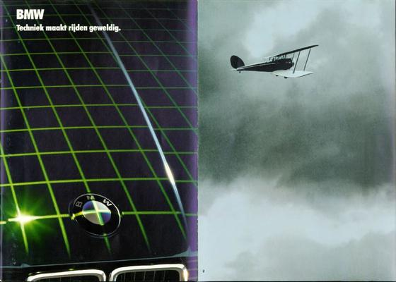 Brochure BMW techniek 1985