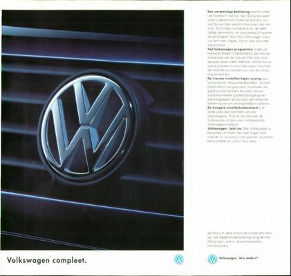 Brochure Volkswagen 1994