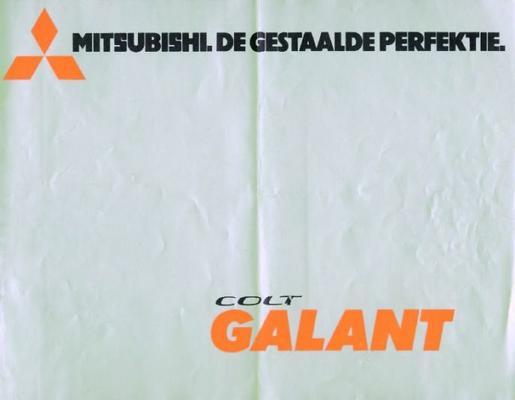 Brochure Mitsubishi Colt Galant 1975
