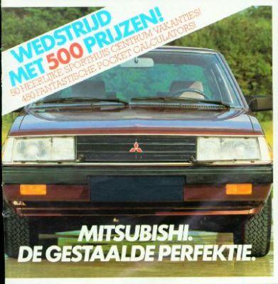 Brochure Mitsubishi 1983