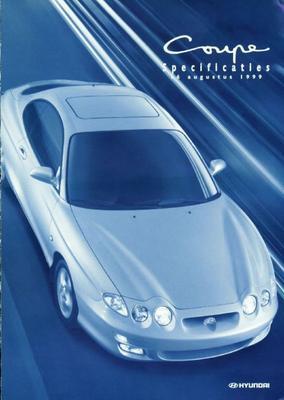 Brochure Hyundai Coupé 1999