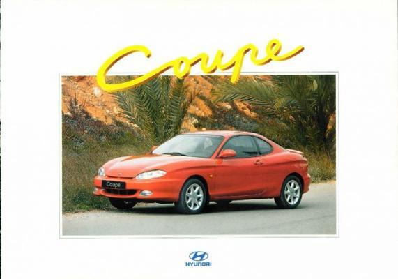 Brochure Hyundai Coupé 1996