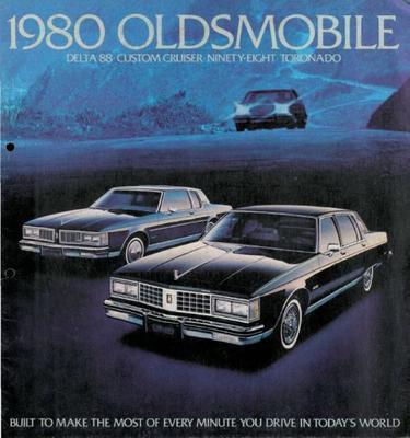 Brochure Oldsmobile 1980