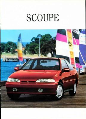 Brochure Hyundai Scoupé