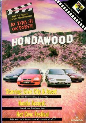 Brochure Honda 1996