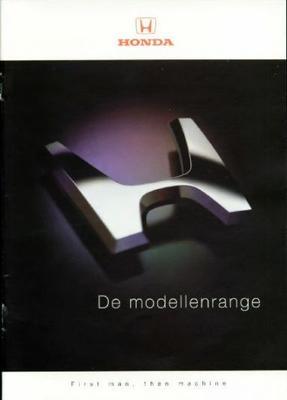 Brochure Honda 1999