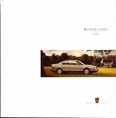 Brochure Rover 1995
