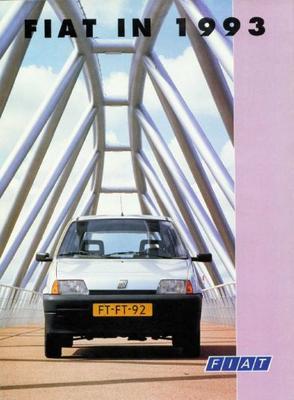 Brochure Fiat in 1993