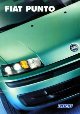Brochure Fiat Punto 1999