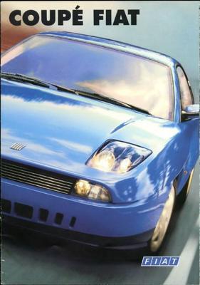 Brochure Fiat Coupé 1996