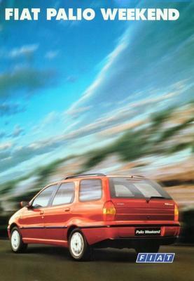 Brochure Fiat Palio Weekend 1999