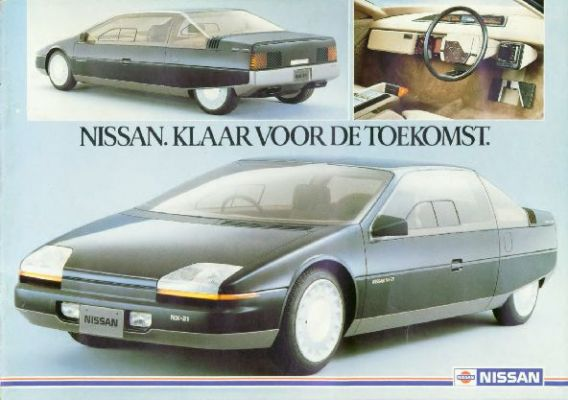 Brochure Nissan 1983