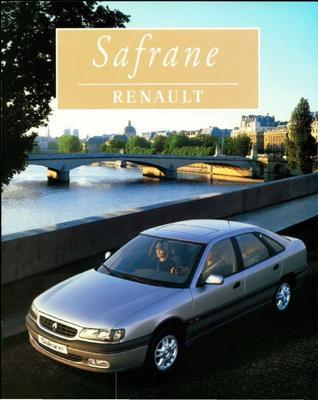 Brochure Renault Safrane 1996