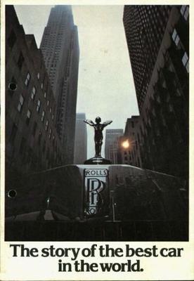 Brochure Rolls-Royce 1977