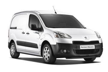 Elektrisch bezorgen in Peugeot Partner Electrique
