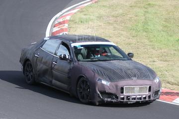 Meer van de Maserati Quattroporte