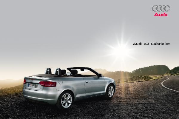 Brochure Audi A3 Cabriolet (2008)