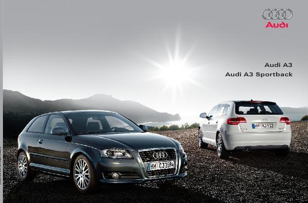 Brochure Audi A3 (2008)