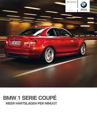 Brochure BMW 1-serie Coupé (2009)