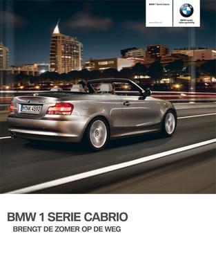 Brochure BMW 1-serie Cabrio (2009)