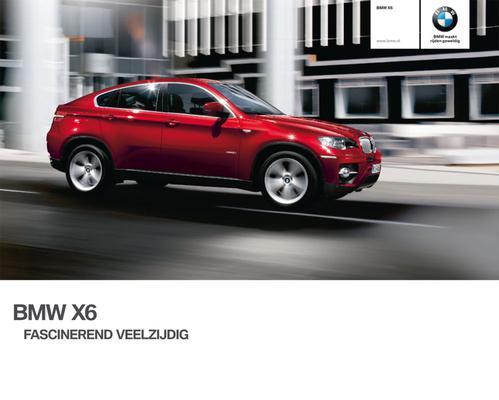 Brochure BMW X6 (2009)