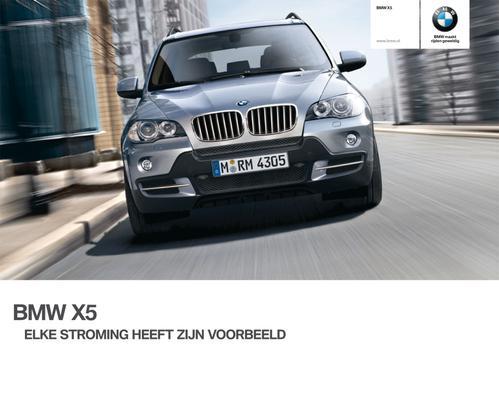 Brochure BMW X5 (2009)
